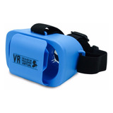 Óculos Infantil Virtual Vr Mini 5+ Azul Games Filme Vídeos