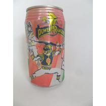Lata Vazia Refrigerante Latinha Guaraná Brahma Power Ranger
