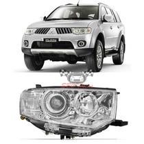 Farol Mitsubishi Pajero Dakar 2011 2012 2013 2014 Direito