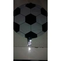 Balão Metalizado Bola De Futebol - 10 Unidades