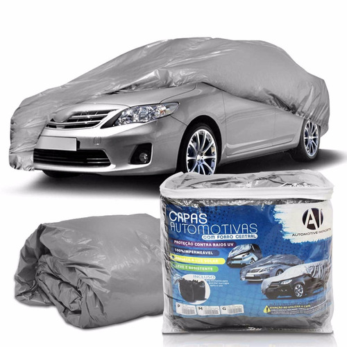 Capa Para Cobrir Fiat Marea Com Forro Central Proteção Uv