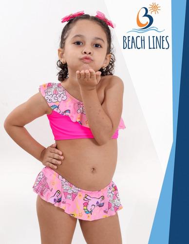 e49b813d8f5b Biquíni Infantil Moda Praia_ Verão 2019_promoção à venda em Conjunto ...