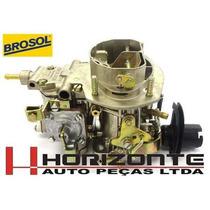 Carburador Opala Caravam Alcool 6cc H34 Solex Brosol Novo