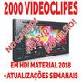 Pack 2000 Clipes Hd Para Djs, Dvd + 2 Anos De Atualização