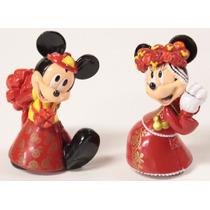 Topo Bolo Casamento Mickey E Minnie Wedding Cake Japonês