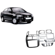 Kit Painel Prata Vw Polo 03/ Sedan Ou Hatch Painelkit