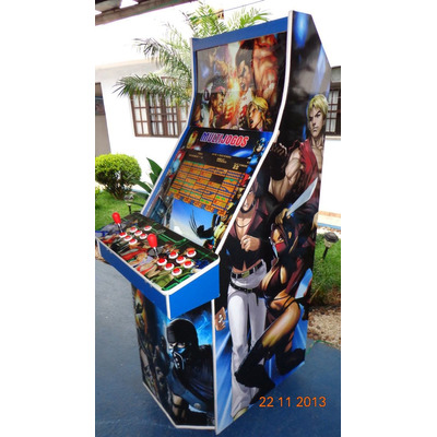 Máquina Multijogos Avançada 22 Arcade Ficheiro Sob Encomenda em Osasco