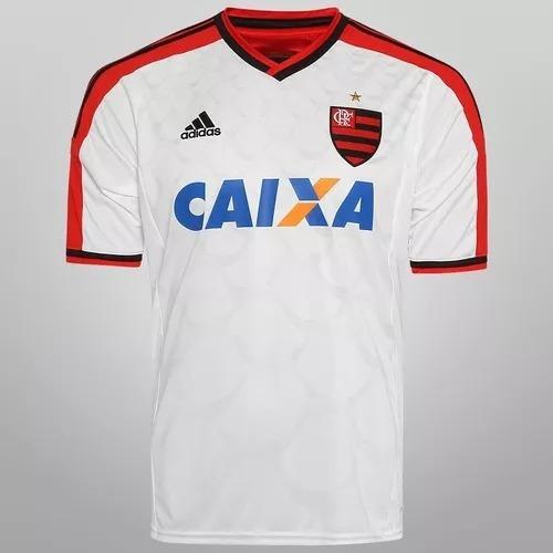 Camisa Flamengo adidas 2014 Branca Original Nova Oficial 0bea98911561a