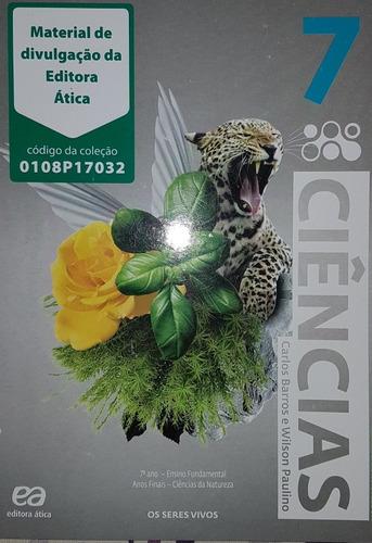 Livro Ciências 7 Ano Barros Paulino