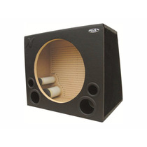 Caixa Palhetada 1 Subwoofer 15 Polegadas Competição Nelsom