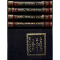 Livro Dicionário De Filosofia E Ciências Culturais 4 Volumes