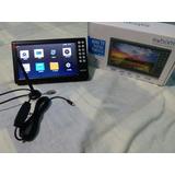 Mini Tv Digital Portátil Hd Tela 7  Usb Sd Rádio Exbom!!!