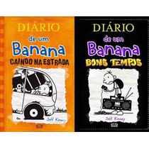 Diário De Um Banana Volume 9 + Volume 10 - Jeff Kinney