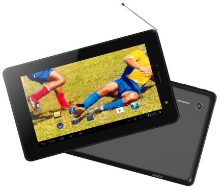Tablet Phaser Pc - 203 Tv Digital Tela 7 4gb 2 Câmeras Wi - fi