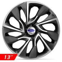 Calota Jogo Aro 13 Esportiva Ds4 Ford Ka Fiesta Focus Escort