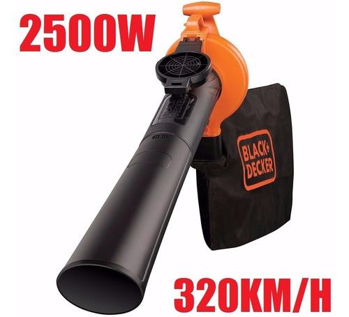 Soprador Aspirador Folhas 2500w 220v Black Decker Bv25
