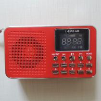 Rádio Receptor Portátil Lcj L-938b Am Fm Mp3 Cartão Memória