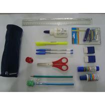 Kit Material Escolar Masterprint - 15 Itens