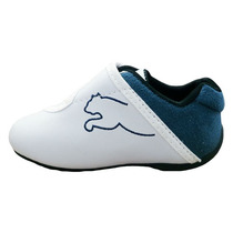 Tenis Puma Infantil Masculino Bebê Branco E Azul !!!