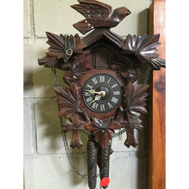 Relógio De Parede Cuco Corda Mecanico