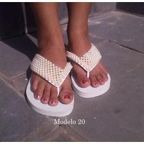 Chinelos Havaianas Sandálias Personalizadas Manta Pérolas