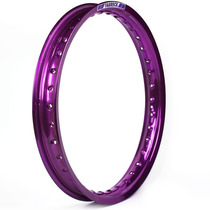 Aro Moto Alumínio 18 X 2.15 Colorido Ybr 2000/2008 Violeta