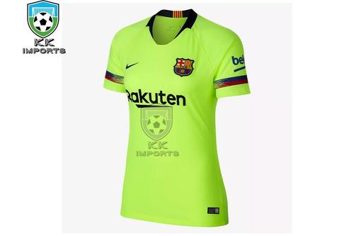 Camisa Feminina Barcelona 2018 2019 Uniforme 2. R  170 8da98e66bf0da