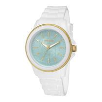 Relógio Feminino Mormaii Mauí Mo2035cs/8a - Branco / Dour...