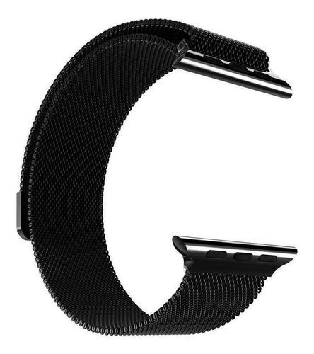 Pulseira Loop Milanese Para Apple Watch 38mm 40mm 42mm 44mm