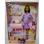 Barbie Gravida Happy Family Morena * Muito Rara *