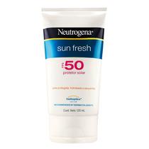 Protetor Solar Neutrogena Sun Fresh Corpo Fps50 Com 120ml