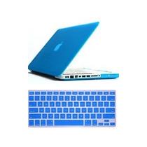 Case P/ Macbook Pro/retina/air 11 13 15 +protetor Teclado