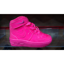 Nike Air Force Bota Cano Alto Infantil