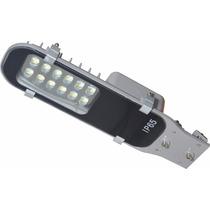 Kit 10 Luminárias Led Mini Pétala 12w Iluminação Pública Biv