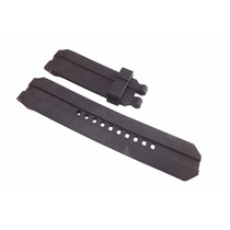 Pulseira Oakley Uhr Stealth Gearbox Preta Sem Fivela Similar