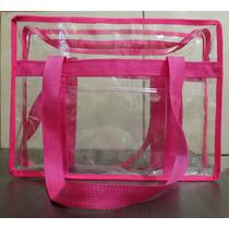 Bolsa Sacola De Praia Plástico Transparente Taman M