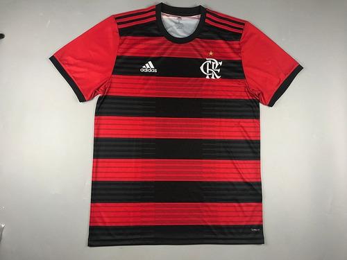 c8af1f0a08 Blusa Flamengo 2018 Original Torcedor Masculino 18 19