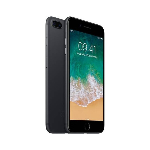 def40e8d7 Iphone 7 Plus 32gb Novo Preto e D Garantia Apple 12xs juros