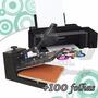 Kit Sublimação Prensa Plana P Estampar 40x60 Impressora A3