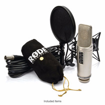 Microfone Condensador Rode Nt2a Nt2-a Profissional Estudio