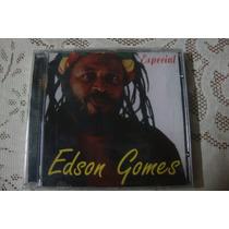 Cd Coletânea Do Cantor De Reggae-edson Gomes-especial.