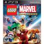 Jogo Novo Lacrado Lego Marvel Super Heroes Pra Playstation 3