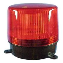 Sinalizador Giroflex Flash Advertencia 24v Vermelho