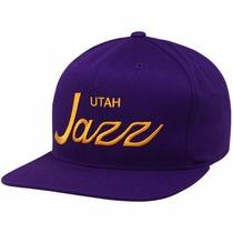 Boné Snapback Mitchell & Ness Utah Jazz Nba Jordan