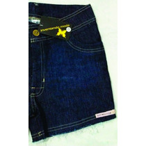 Shorts Feminino Curto Jeans Com Elastano