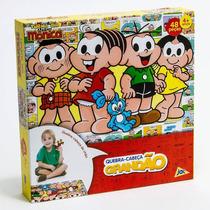 Quebra Cabeça Grandão Turma Da Mônica 48 Peças - Toyster