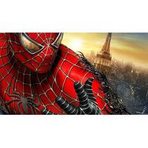 Painel Decoração De Festa Homem Aranha - Spider Man - 2x1,50