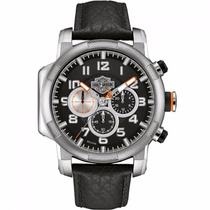 Relógio Bulova Harley Davidson Wh30555t Oferta Garantia E Nf