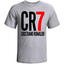 07bed72ad6 Camiseta Cr7 Camisa Cristiano Ronaldo Fã Real Madrid Cr7 à venda em ...
