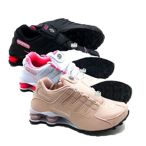 Tênis Nike Shox Nz Se Eu Originals 4 Molas Promoção 3 Pares - R  400 ... f0c81e564e162